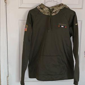 Broncos military hoodie